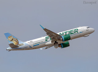 F-WWIB Airbus A320 Neo Frontier