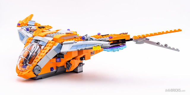 REVIEW LEGO Marvel 76107 Thanos Ultimate Battle 07