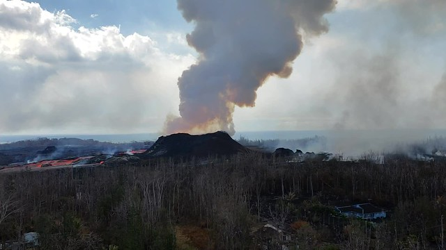 06/19/18 Kilauea, HI - East Rift Zone Eruption Event
