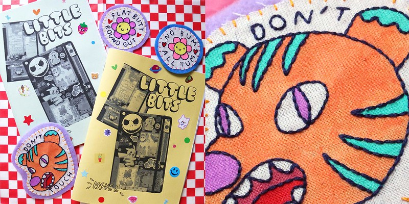 Little Bits 2 and Handmade Patches