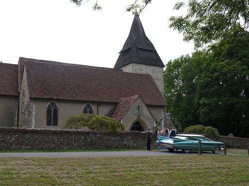 Wedding at West Horsley Church