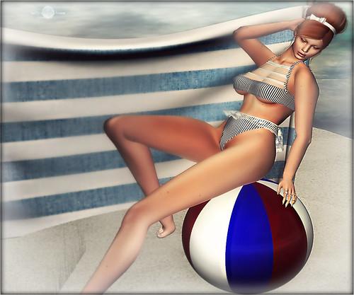 ╰☆╮Jeux de plage.╰☆╮