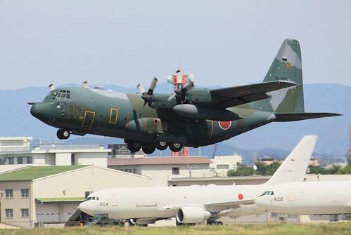 航空自衛隊 第1輸送航空隊 第401飛行隊 C-130H 75-1075 IMG_7788_2