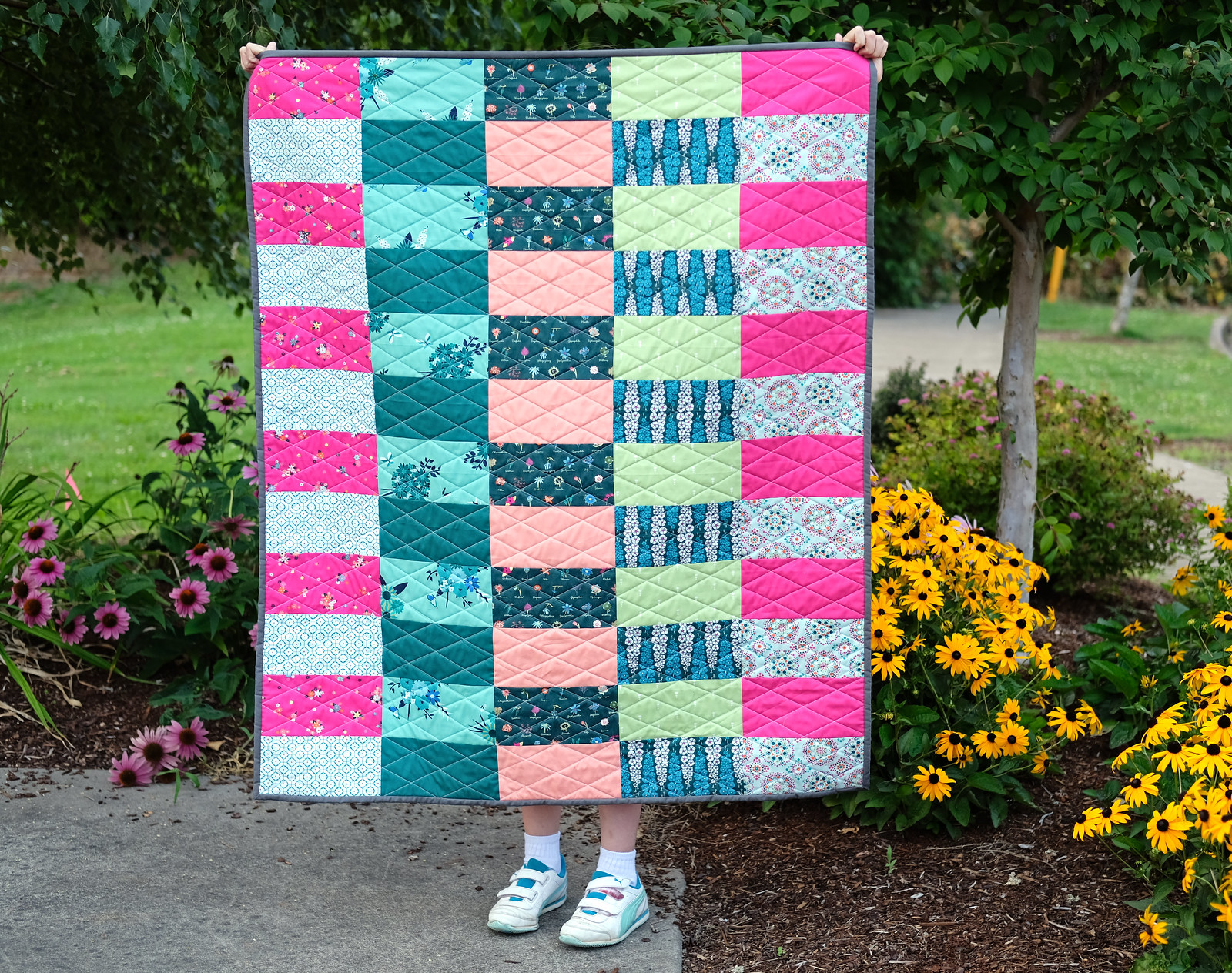 Loved to Pieces Quilt