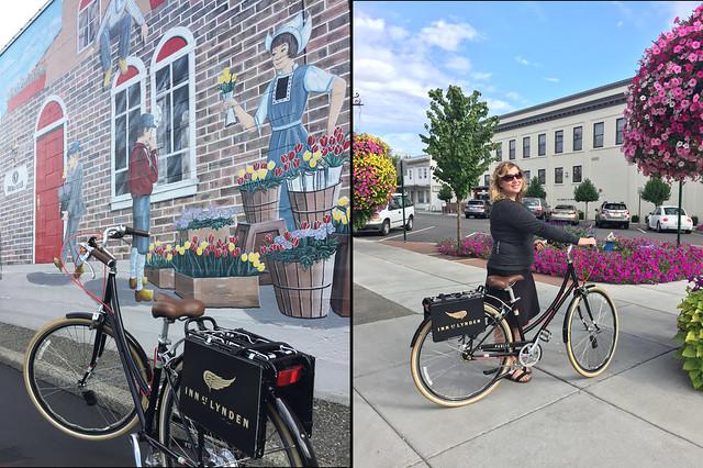 Inn at Lynden Bikes Around Town