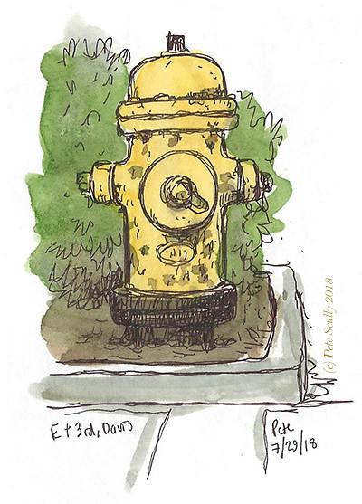 hydrant E & 3rd