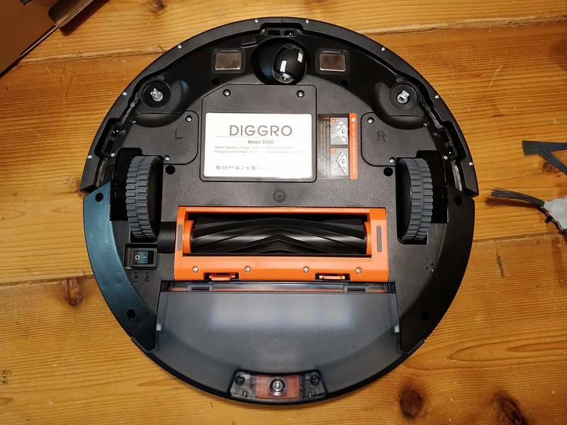 Diggro D300 ロボット掃除機 開封レビュー (44)