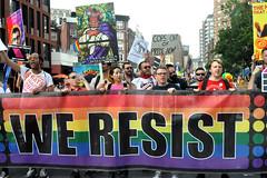Rise and Resist in Gay Pride