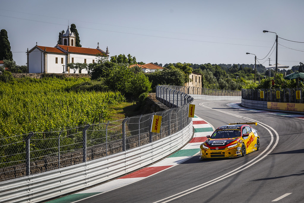 09 CORONEL Tom, (nld), Honda Civic TCR team Boutsen Ginion racing, action during the 2018 FIA WTCR World Touring Car cup of Portugal, Vila Real from june 22 to 24 - Photo Francois Flamand / DPPI