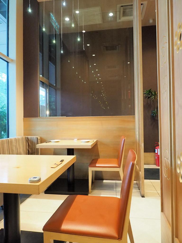 Interior of Rakuzen Japanese Restaurant at 3 Damansara, Petaling Jaya