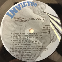CHAIRMEN OF THE BOARD:IN SESSION(LABEL SIDE-B)