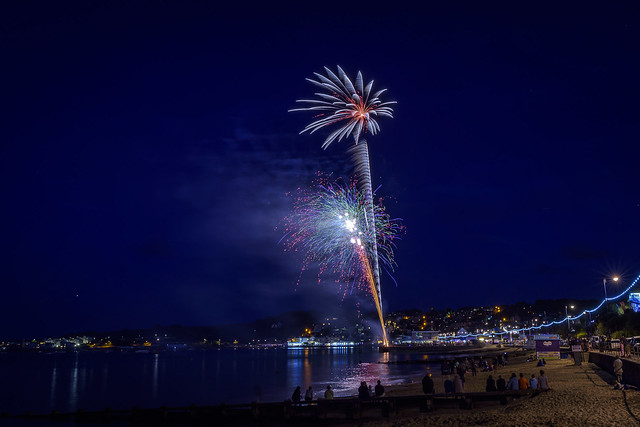 Swanage Carnival Fireworks 01-08-2018 12