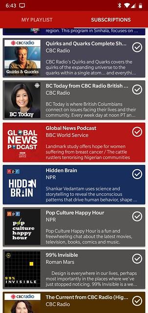 Podcast Go App