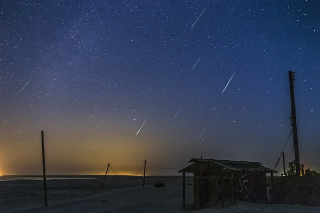 Perseid Meteor Shower Over, Canon EOS 6D, Canon EF 35-80mm f/4-5.6