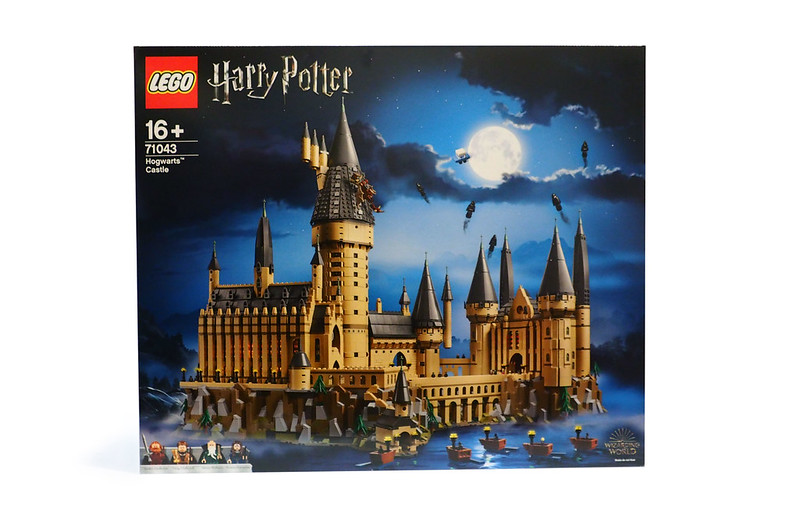 LEGO Harry Potter Hogwarts Castle 71043 box-front