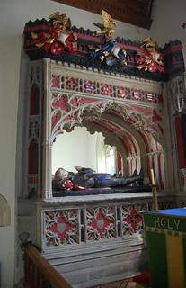 Herstmonceux, All Saints' church, Dacre memorial