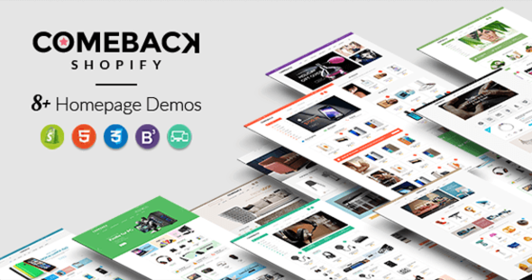 Comeback v1.0.3 – Advanced Shopify Theme Option Drag and Drop Page Builders