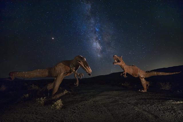 Perseid Meteor Show @ Jurassic Park