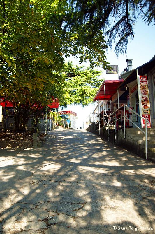 Дорога к автобусной станции Херцег Нови