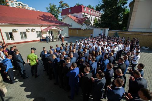 24.08.2018 Diplomele Parlamentului pentru ofițerii Serviciului de Protecție și Pază de Stat cu ocazia Zilei Independenței Republicii Moldova.