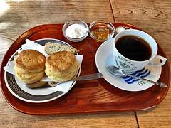 私には珍しくコーヒー ネルドリップなのである  coffee  機屋