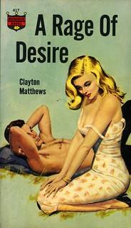 Monarch Books 417 - Clayton Matthews - A Rage of Desire
