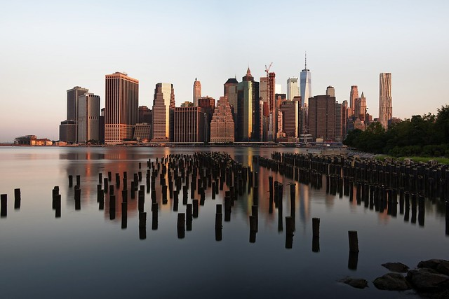 Downtown Manhattan Skyline at Dawn