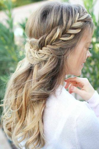 30+Most Stunning French Braid Hairstyles To Make You Amazed! 6