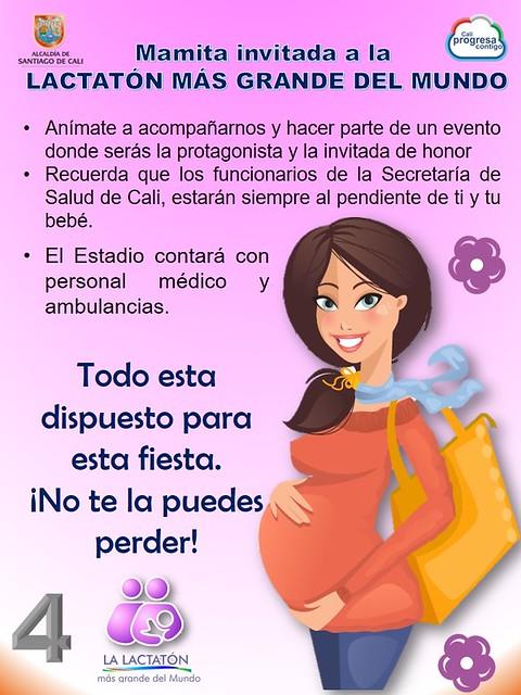 Semana de Lactancia Materna RCV
