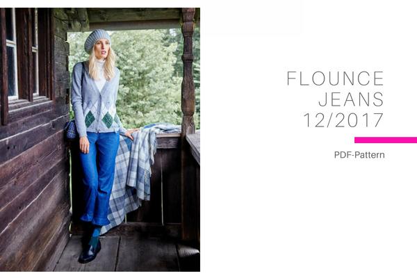 Flounce Jeans
