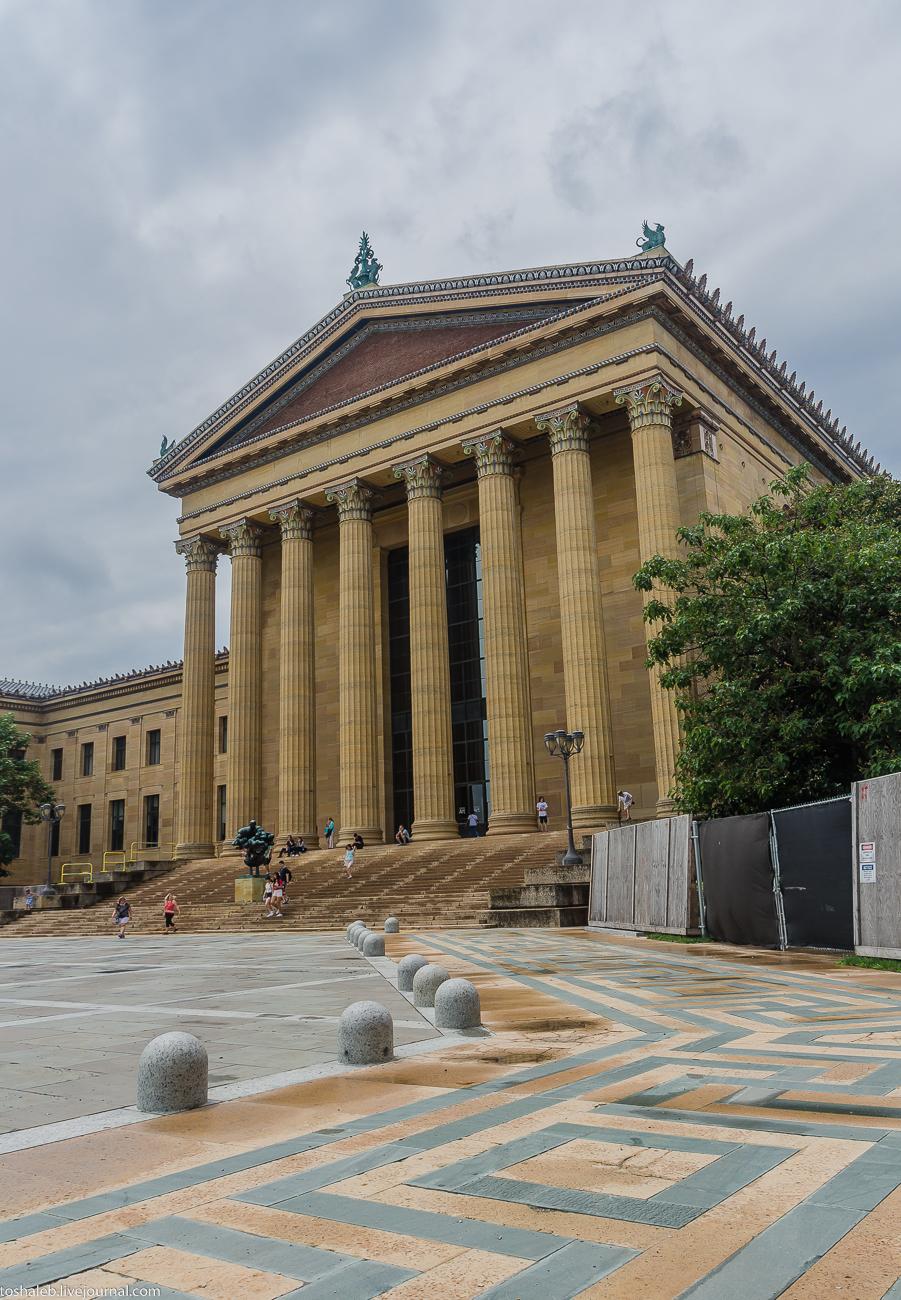Филадельфия_фасад музея-25
