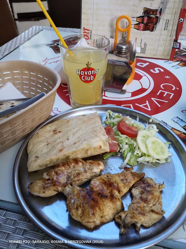 2018 Bosnia Sarajevo Food Cevapi