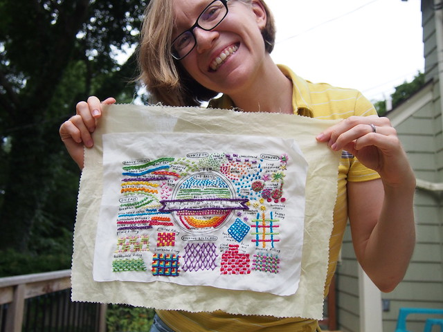 Finished Sampler!