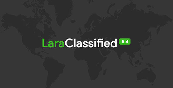 LaraClassified v5.4 – Geo Classified Ads CMS