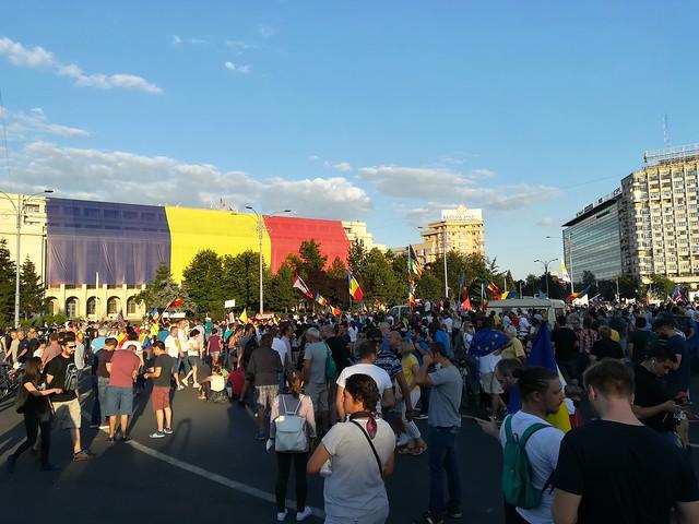 Proteste la Bucureşti 11.08.2018