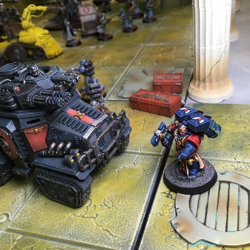 Medal of Colors Indomitus Crusade Battles-32