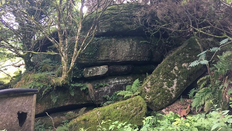 Badger's Holt (higher outcrop)