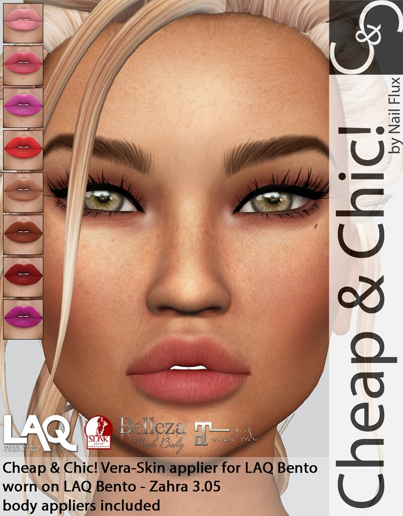Cheap & Chic! Vera-skin applier for LAQ