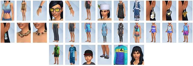 Todos os Objetos e Roupas do The Sims 4 Estações