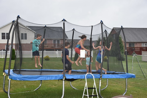 Jumping in the rain