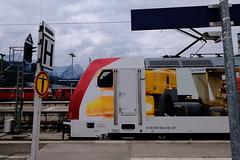 185 664 im Bahnhof Garmisch-Partenkirchen