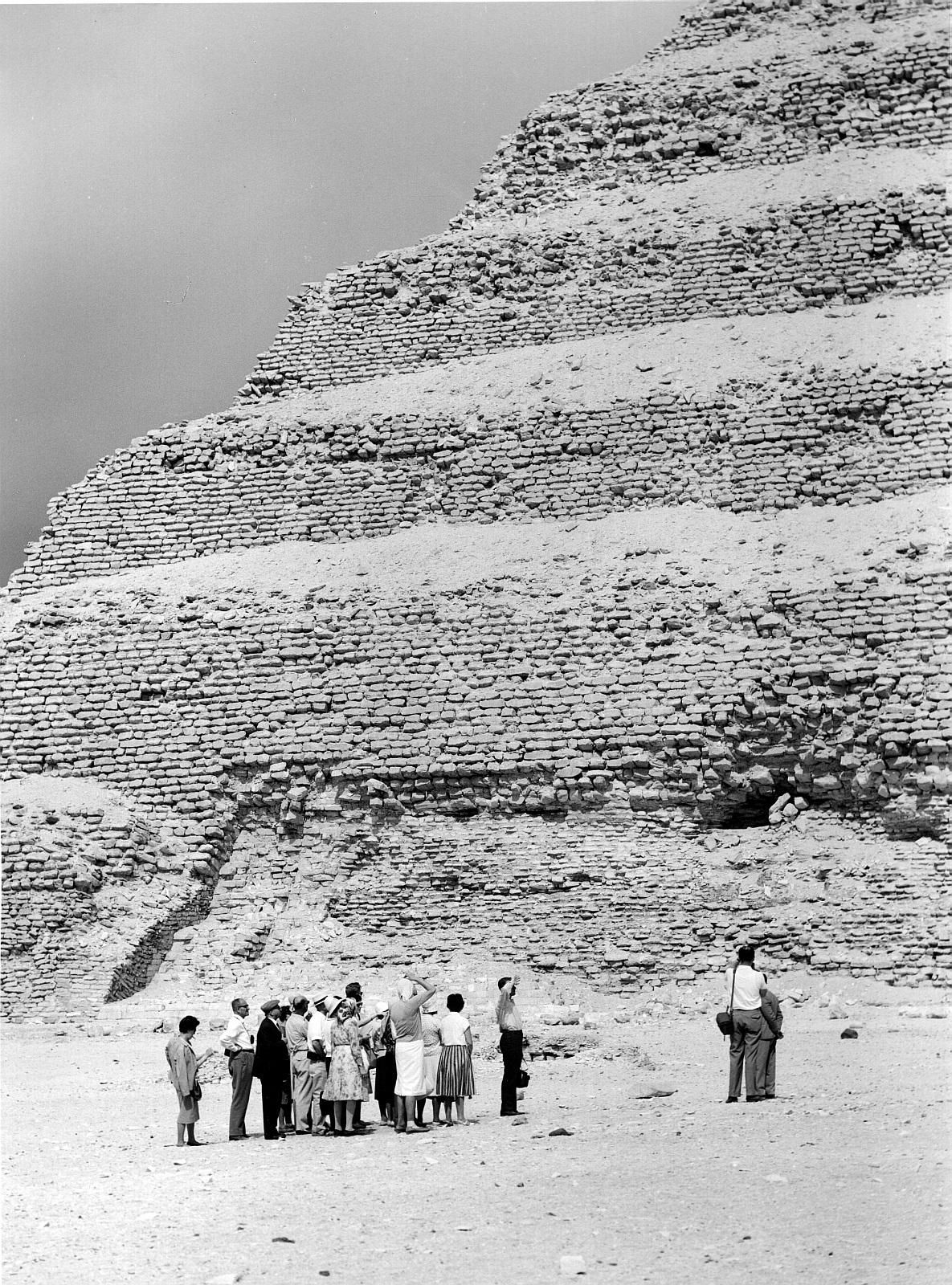 Саккара. Ступенчатая пирамида Джосера