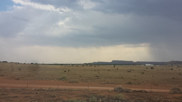 New Mexico monsoon rain