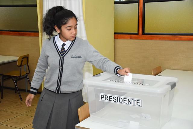 Votación elección Centro del Alumnos