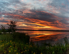 Hot August Canadian Sunrise
