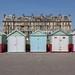 Beach huts by Gary Kinsman