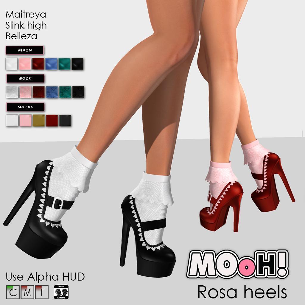Rosa heels - TeleportHub.com Live!