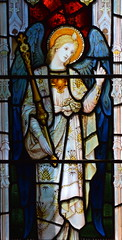 St Gabriel at the Annunciation (Powell & Sons, 1910)