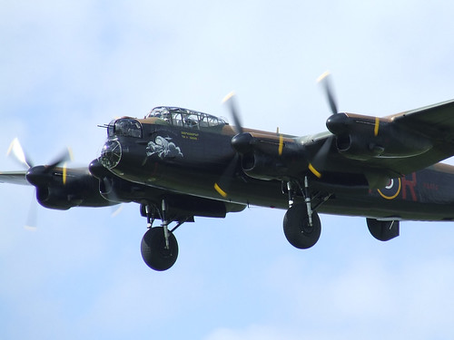 Royal Air Force Battle of Britain Memorial Flight Avro Lancaster B1 - Rougham Airshow 2008, Sunday 17th August 2008 | by CDay86