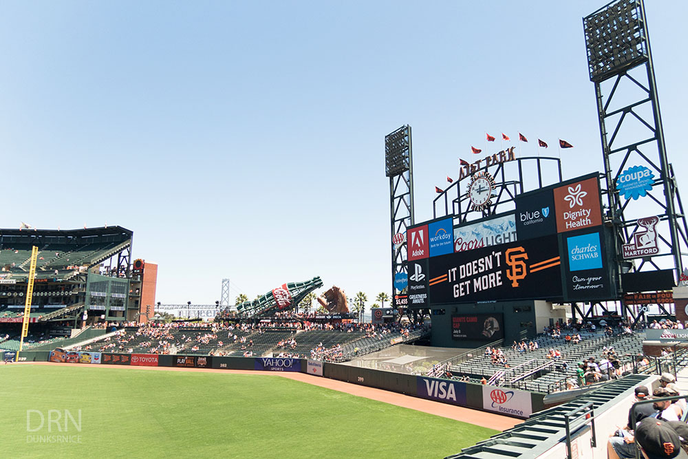 San Francisco Giants AT&T Park.